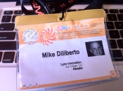 Mike Diliberto's South by Southwest Speaker Badge